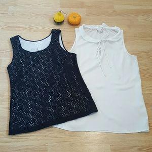 J. Crew blouses.Size 0.  Bundle!